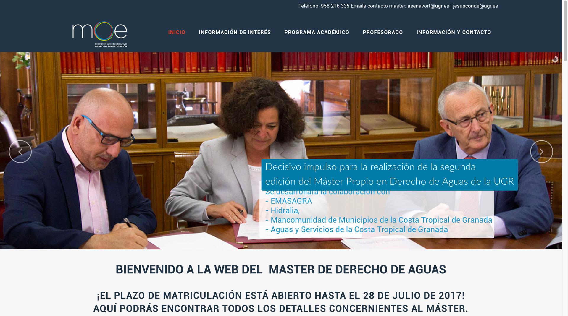 página-web-master-ugr